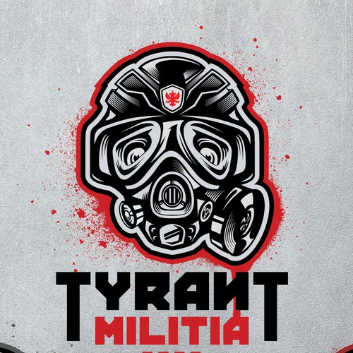 Tyrant Militia logo design
