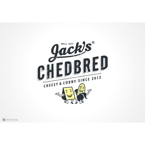 3 days added!! Rethink and inject new life into the Jack's Chedbred logo!