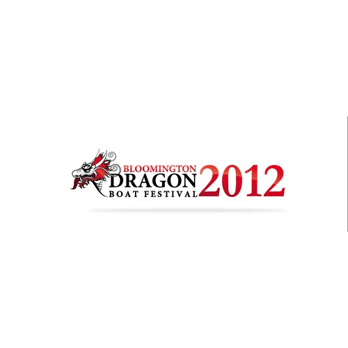 logo for Bloomington Dragon Boat Festival