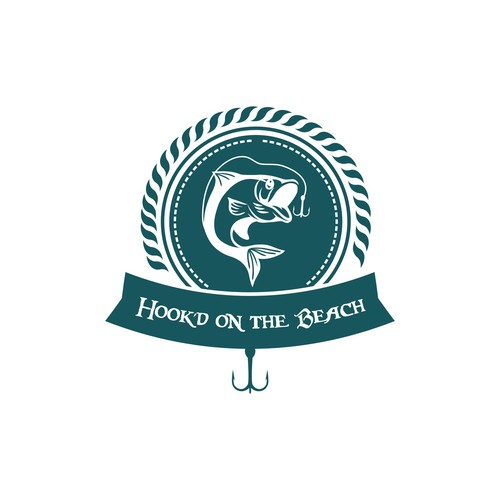 Hook'd on the Beach logo