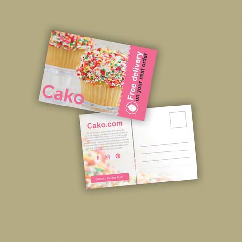 Cako postcard