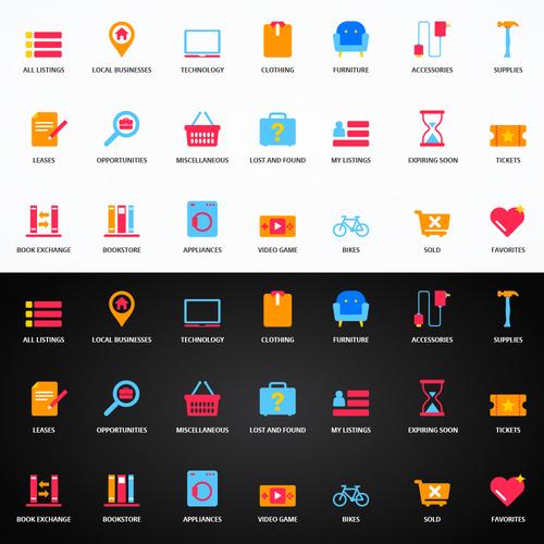 Icon set