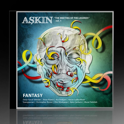 Help Askin with a new CD Album Cover design