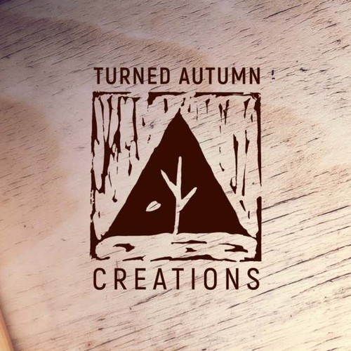 Engraved personal logo for a woodworker