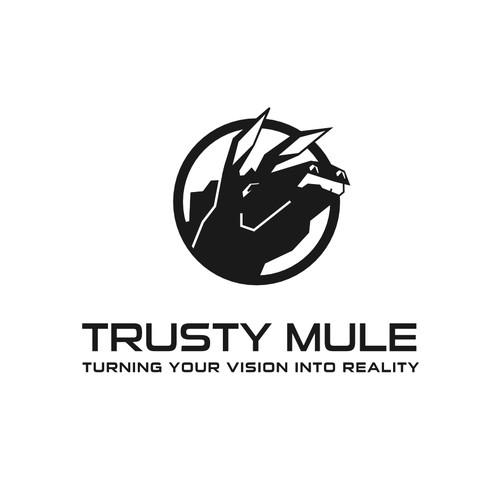 logo for trusty mule