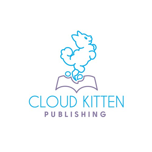 Fun logo for a publisher
