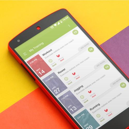 FitPlayer App Design