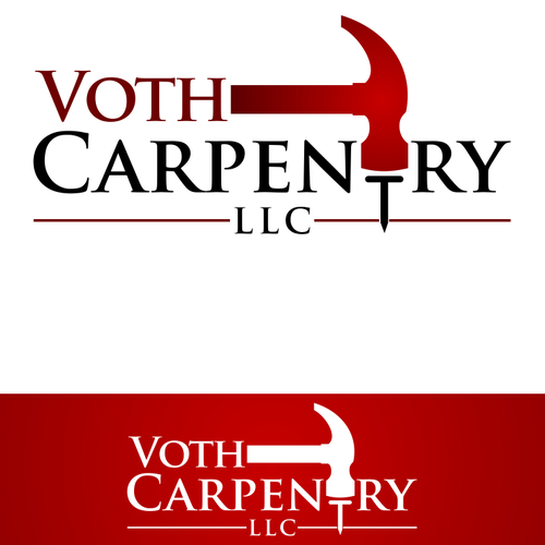 Create an awesome logo for Voth Carpentry.