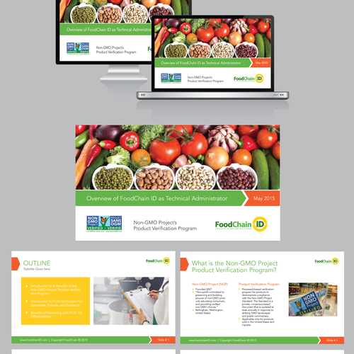 Powerpoint design for foodchain