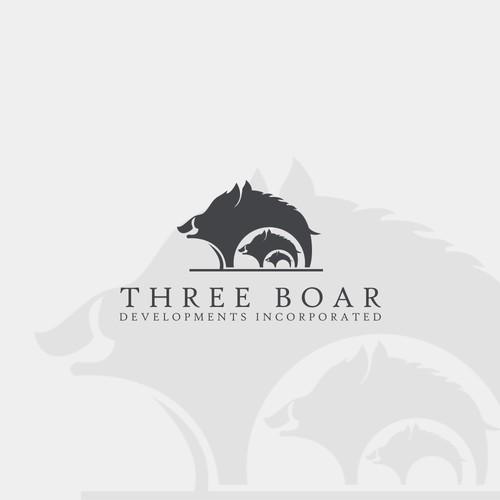 three boar