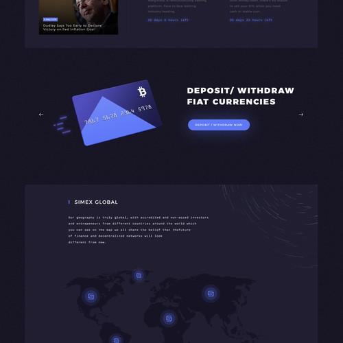 SIMEX web design