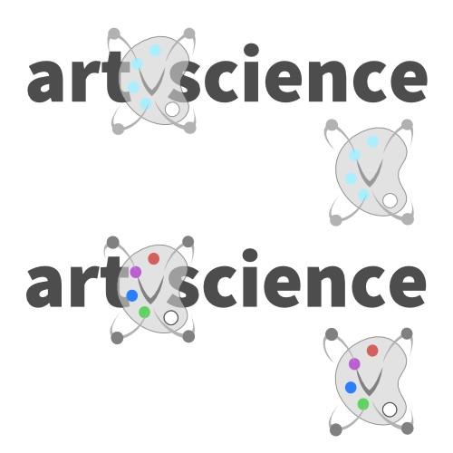 Logo for art v science