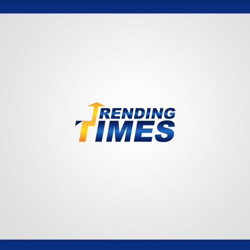 Logo concept for trendingTimes : viral news site