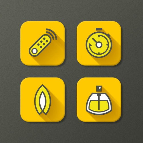 Series of Clever, Simple Icons Needed