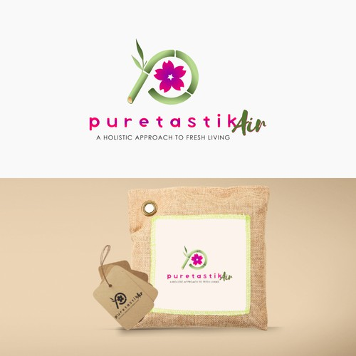 powerful logo for puretastik