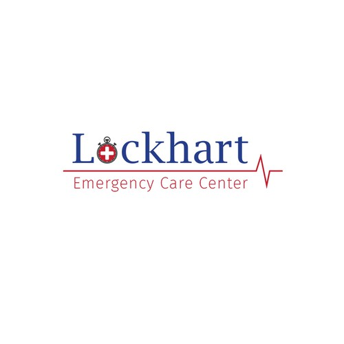 Bold logo for an emergency care center