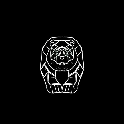 Metal bear for technology company.