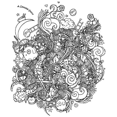 Bold Doodle Concept
