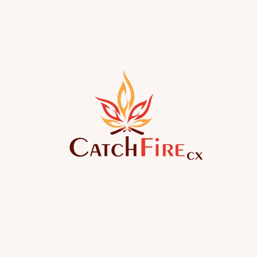 Logo Concept for CatchFireCX [ legal cannabis/marijuana industry (mostly cannabis retailers/dispensaries)]