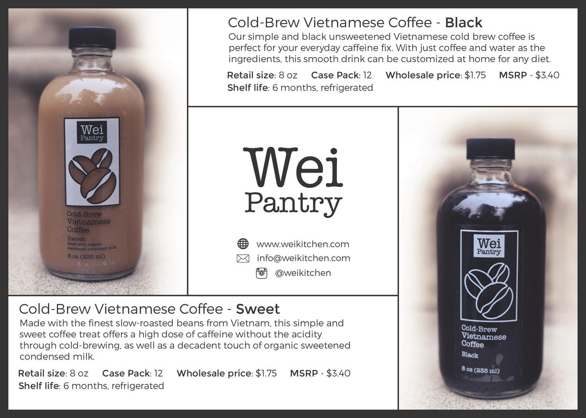 "Cold Brew Coffee Post Card 5"" x 7"""