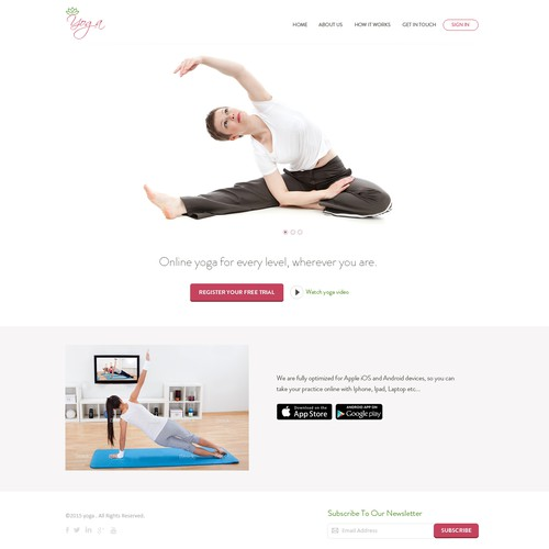 Yoga Web Site
