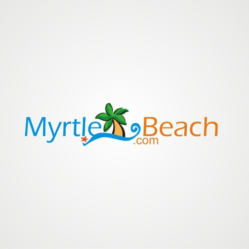 Capture the beach's appeal with a smart, simple logo