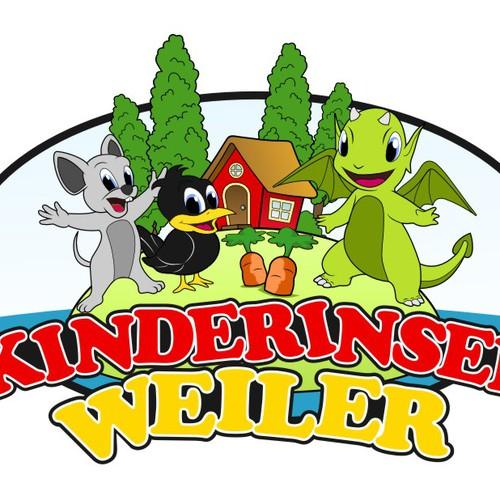 kindergarten school logo
