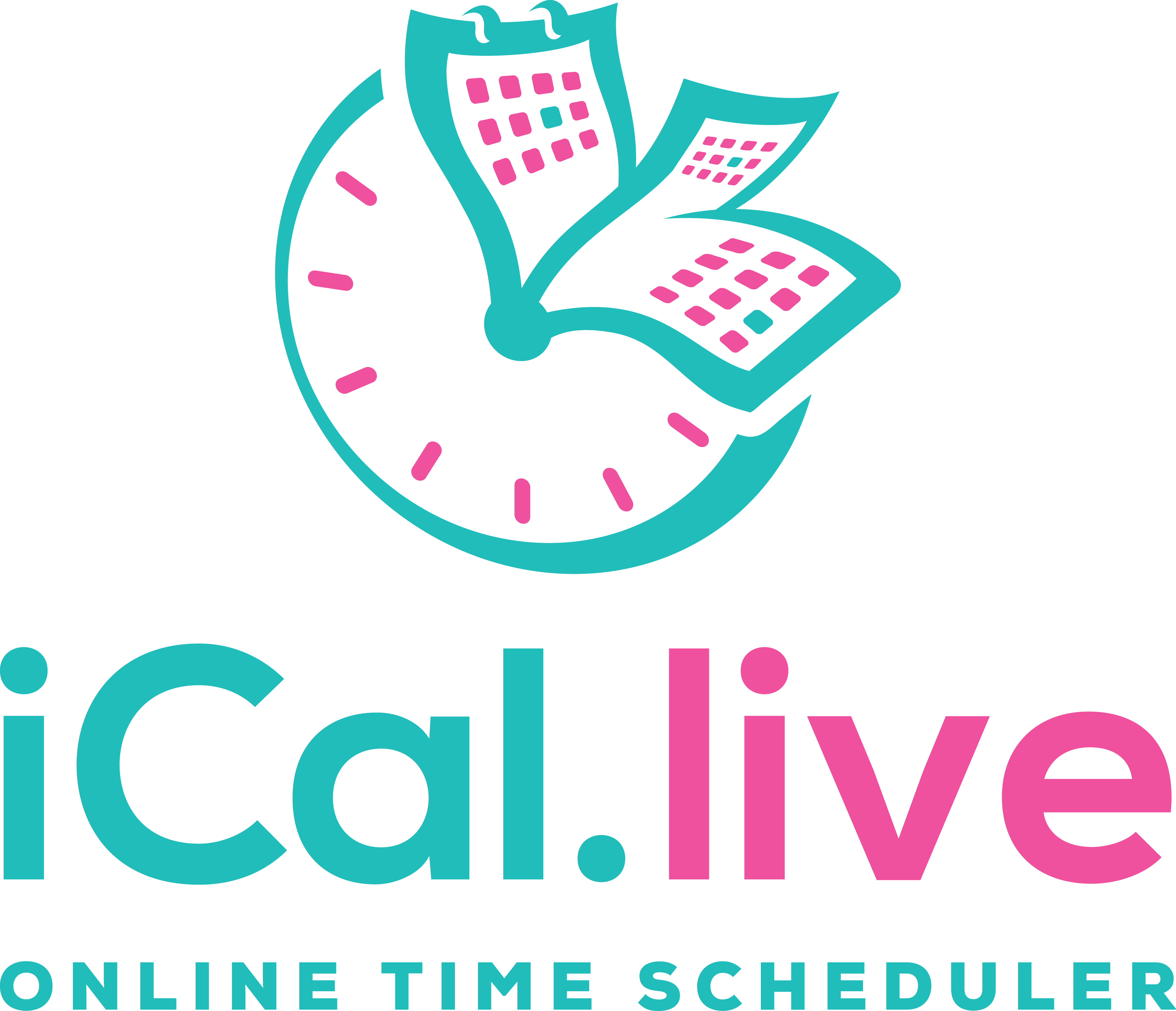 online time schedule app need a impressive logo