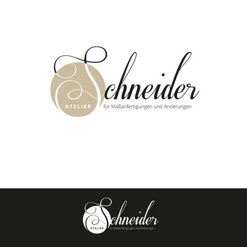 Logokonzept für hochwertige Schneiderei