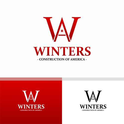 Logo Works For Winters : Contruction Of America