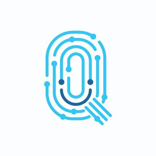 Q + Smile Logo Concept #1
