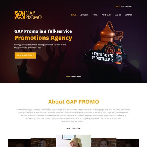 GAP Promo - Website Design