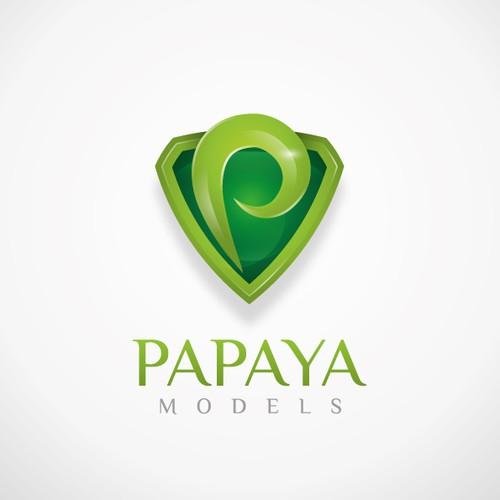 Papaya models - Logo