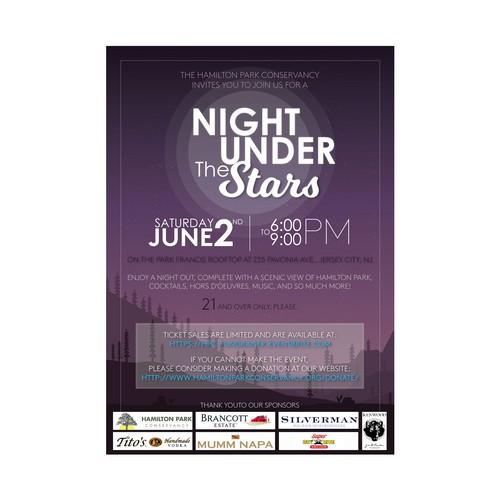 Invitation /poster for Hamilton Park Event