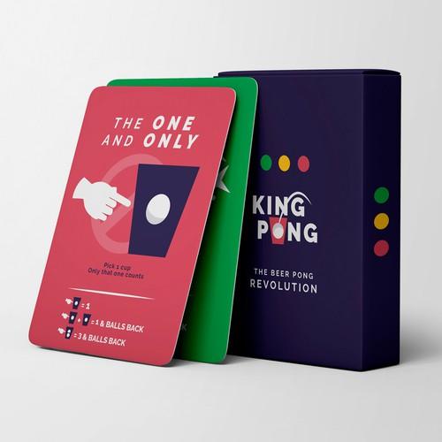 King Pong- Card Game