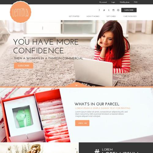 Subscription based website for women