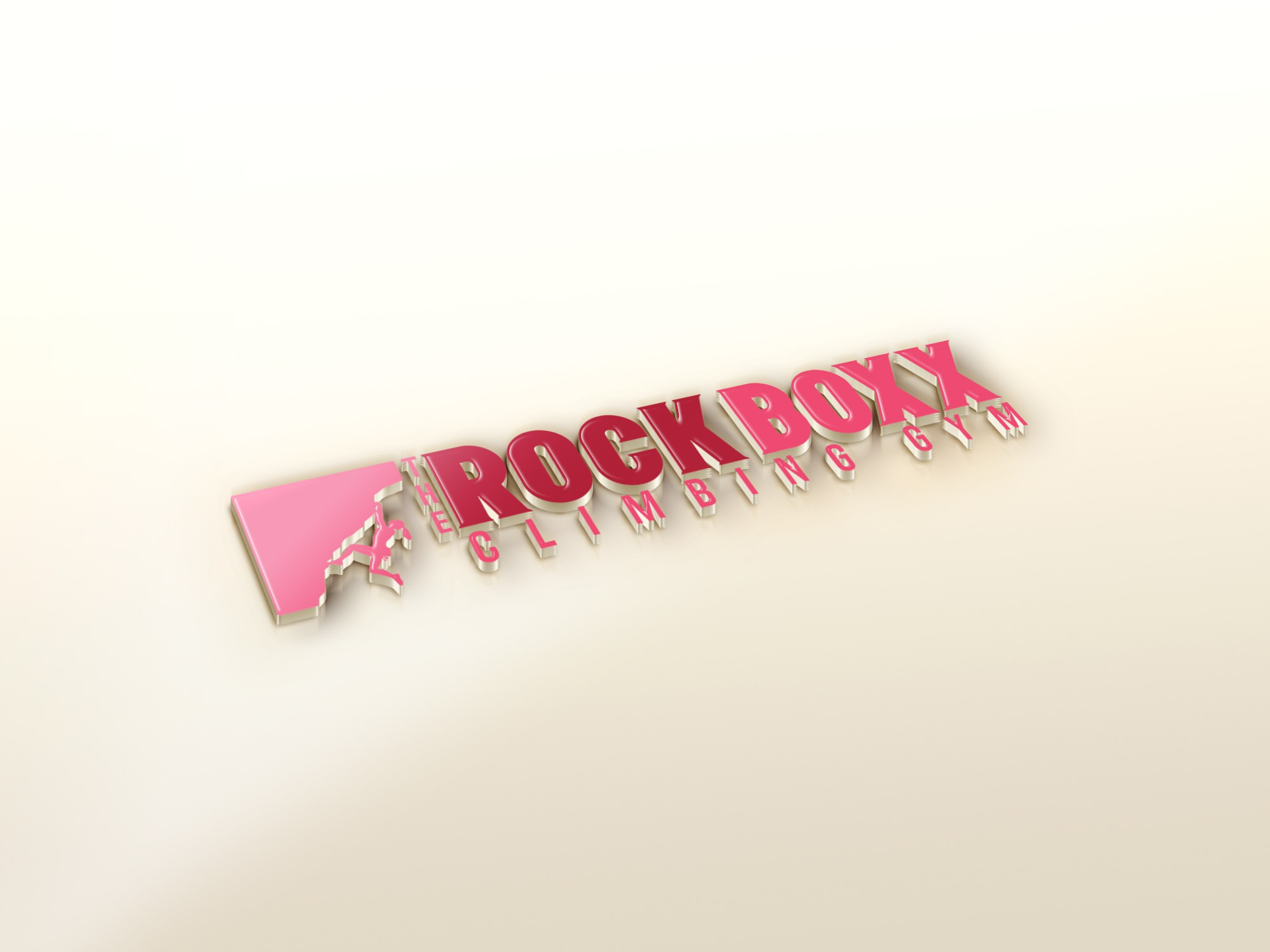 Feminine Version of the Rock Boxx Logo