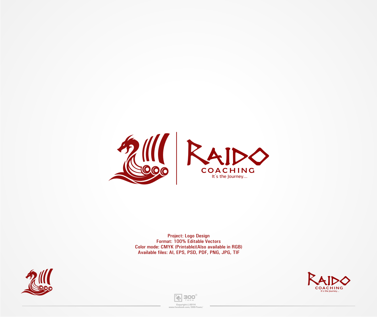 Create a logo worthy of the Vikings for Raido Coaching!