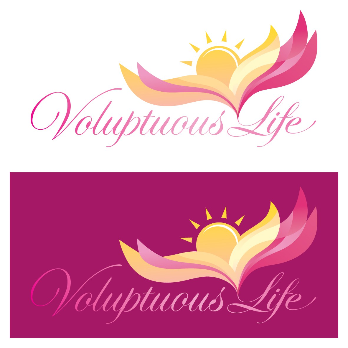 Voluptuous Life wants an inspiring logo