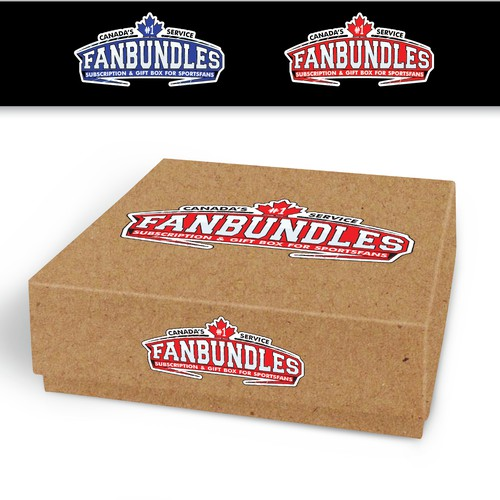 Sports logo for gift box