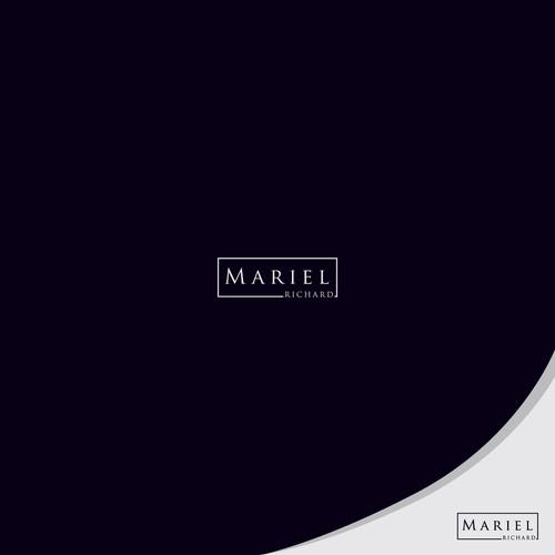simple logo for Mariel Ricard