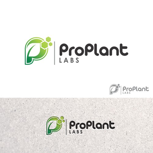 "Bold logo concept for ""ProPlant Labs"""