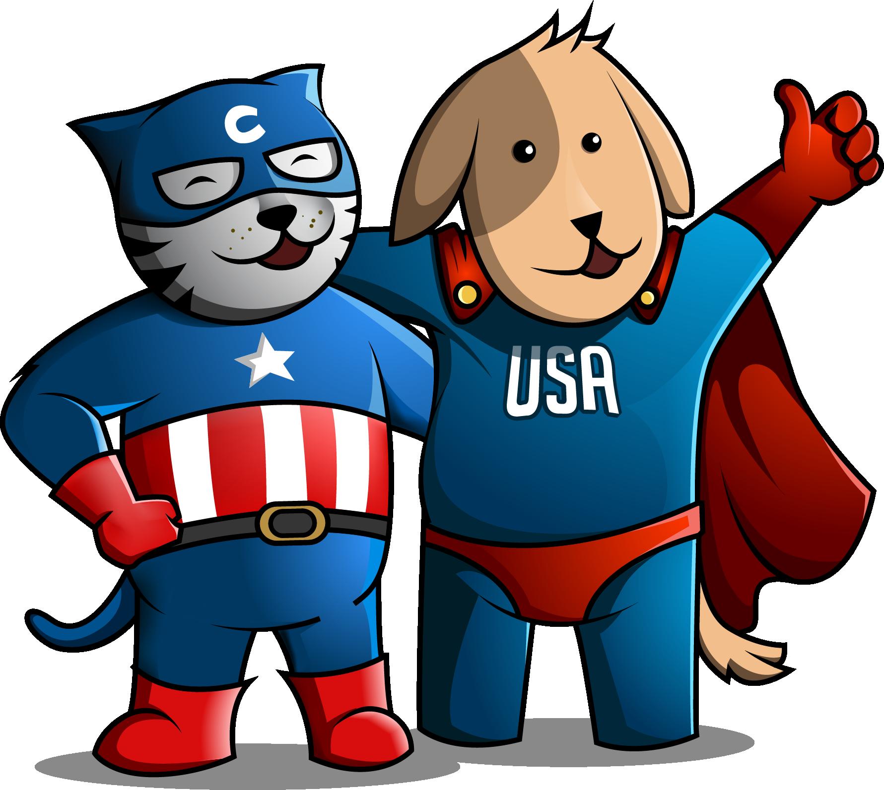 Create a feel good image for a pet supplies retailer.