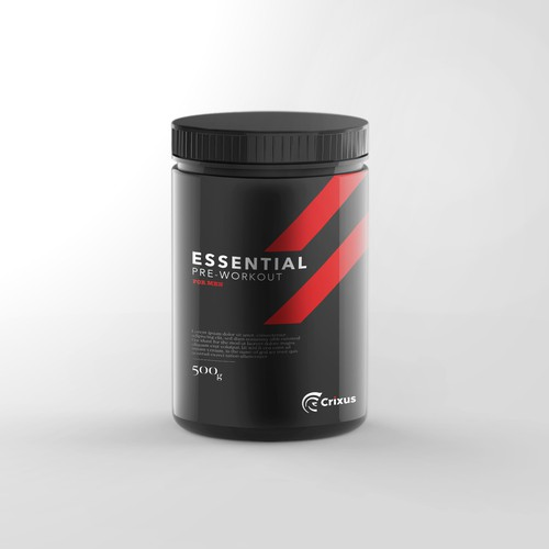 Modern Masculine Packaging Design - AVALIABLE FOR SALE VIA 1-1 PROJECT