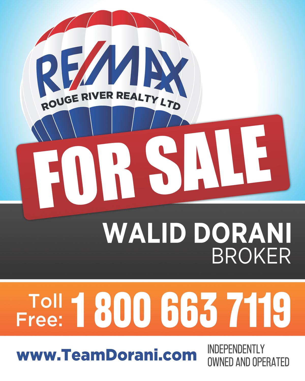 real estate marketing material