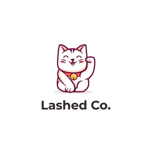 Cat Mascot Logo Design