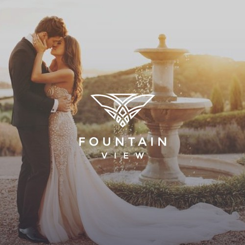 Fountain View - Luxury Logo Design