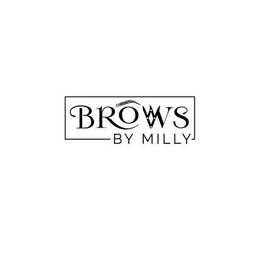 Logo for #1 voted eyebrow artist in Atlanta