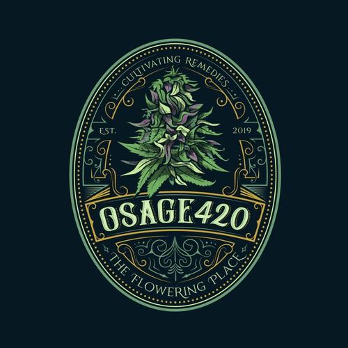 Log design for cannabis boutique farm/facility
