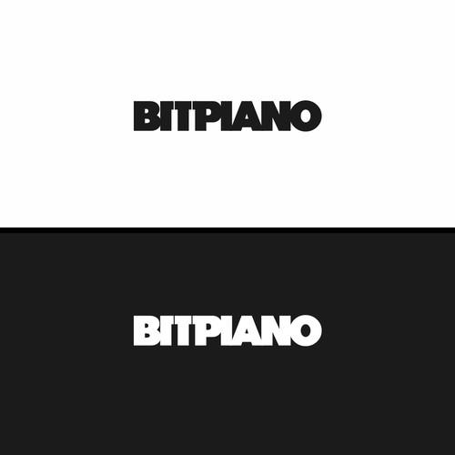 Bitpiano Logo Concept